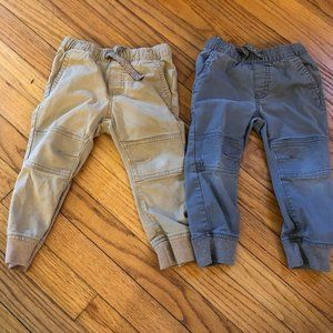 Cat & Jack Size 2T Set of 2 Jogger Pants